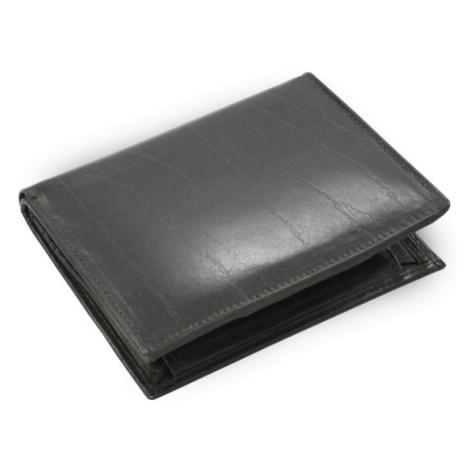 Černá pánská kožená peněženka Kaiden Arwel