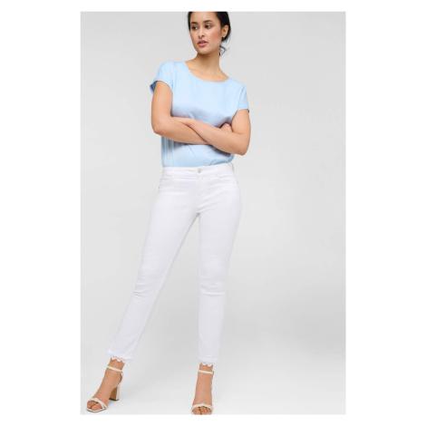 Skinny džíny s krajkou Orsay