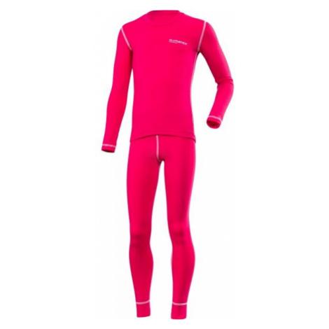 Klimatex ROKI růžová - Set dětského funkčního prádla