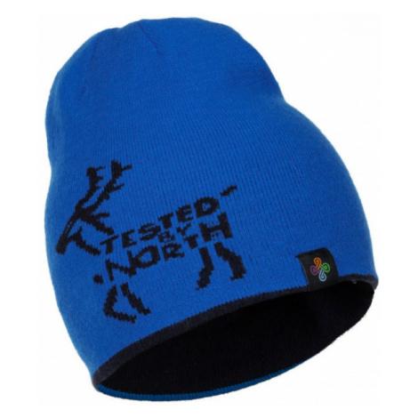 KILPI Zimní čepice HAMER-J HJ0051KIDBL Tmavě modrá