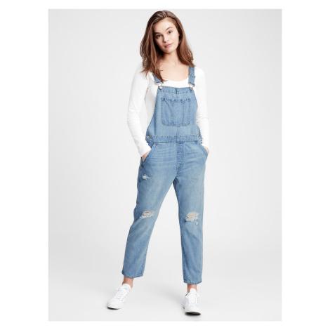 Jeans s laclem GAP Modrá