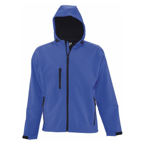 SOLS Pánská softshellová bunda REPLAY MEN 46602241 Royal blue SOL'S