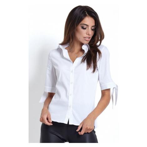Dámská elegantní košile v bílé barvě B45 IVON