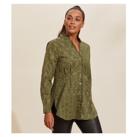 Košile Odd Molly Vivian Shirt - Zelená