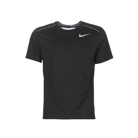 Nike M NK DRY MILER TOP SS Černá