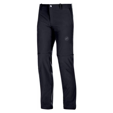 Pánské turistické kalhoty Mammut Runbold Zip Off Pants Black