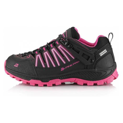 ALPINE PRO ZEPHAN Unisex outdoorová obuv UBTS224411 fuchsiová