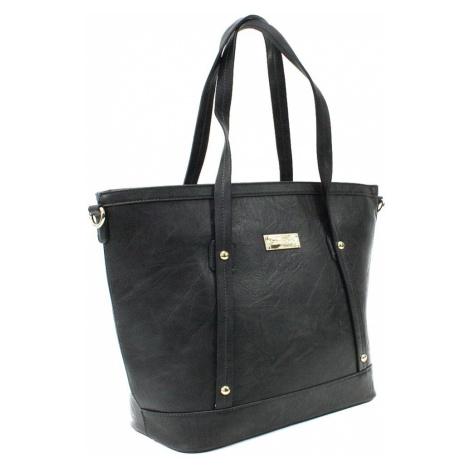 Tmavě šedá dámská elegantní kabelka do ruky i přes rameno Eloisa Cyntia-Calamio (PL)