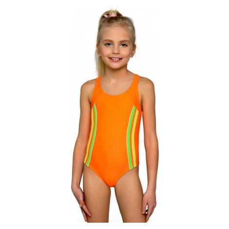 Dívčí plavky Klárka neonové Lorin