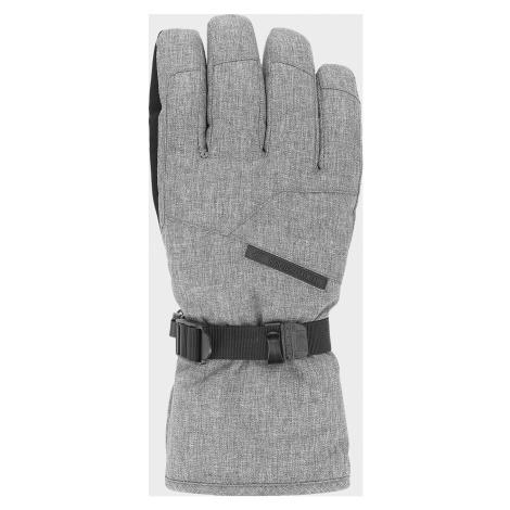 Pánské lyžařské rukavice 4F REM254 Šedé