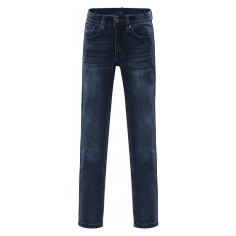 ALPINE PRO ALGODO 2 Dětské jeans KPAJ074691 námořnická modř