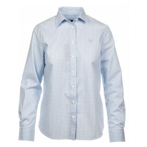 Gant dámská košile modro bílá kostička