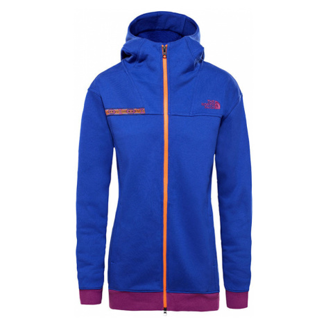 The North Face W 92 Rage Fleece Hd Aztec Blu Rage Multicolor T93MHS9QX