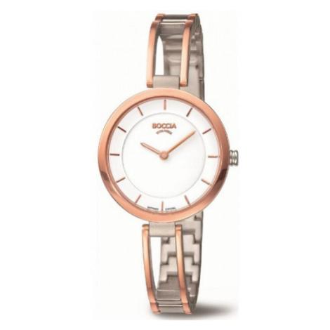 BOCCIA 3264-04, Dámské náramkové hodinky Boccia Titanium