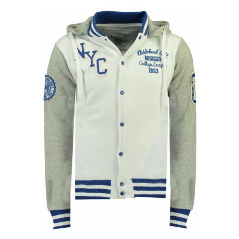 GEOGRAPHICAL NORWAY mikina pánská baseballová ALL IN MEN HOOD 100