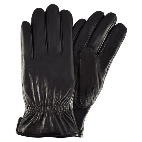 Semiline Man's Men Leather Antibacterial Gloves P8217-0