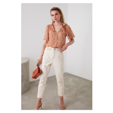 Trendyol Orange Volli shirt
