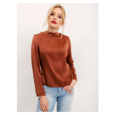 Women´s blouse brown BSL Fashionhunters