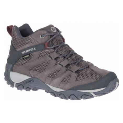Merrell ALVERSTONE MID GTX hnědá - Pánské outdoorové boty