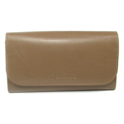Hnědá dámská kožená peněženka Cavaldi