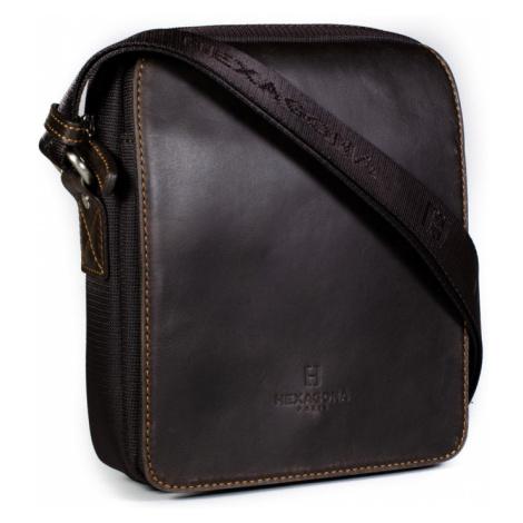 Pánská taška přes rameno Hexagona 299162 hnědá
