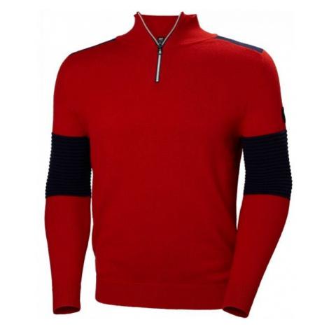 Helly Hansen HOD KNIT SWEATER červená - Pánský svetr