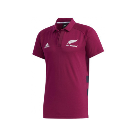 Adidas Polokošile All Blacks Primeblue Červená