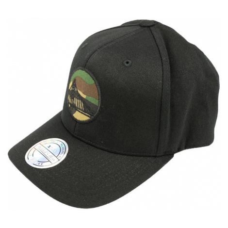 Kšiltovka Mitchell & Ness Camo Logo Snapback NBA Golden State Warriors Black