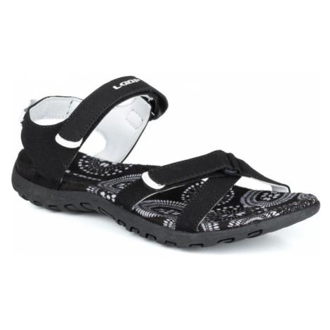 LOAP SIMMA Dámské sandály SSL19147V11A black/bl.de blanc