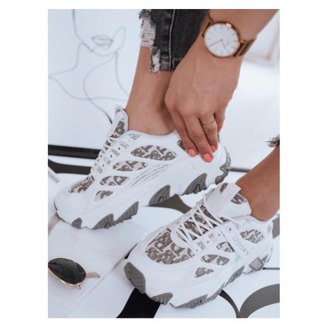 Women's ANAH white sneakers Dstreet ZY0057