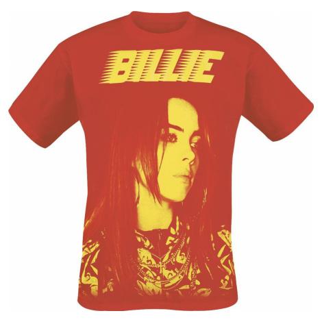 Eilish, Billie Racer tricko červená