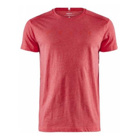 Pánské tričko CRAFT Deft SS červená