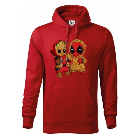 Pánska mikina Deadpool a Groot - super dárek BezvaTriko