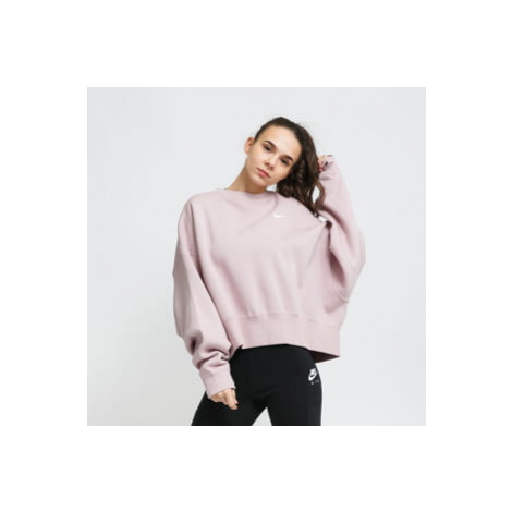 Nike W NSW Crew Fleece Trend světle fialová