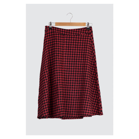 Trendyol Red Flywheel Skirt