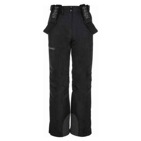KILPI Dívčí lyžařské kalhoty ELARE-JG LJ0007KIBLK Černá