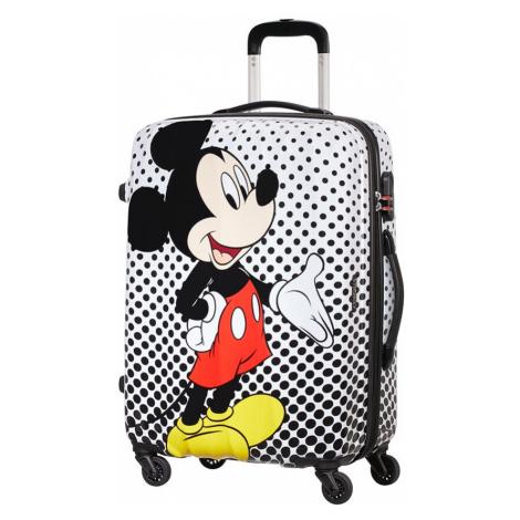 AT Kufr dětský Legends Disney Spinner 65/27 Mickey Mouse Polka Dot, 47 x 27 x 65 (64479/7483) American Tourister