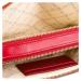 Červená kožená kabelka PINKO