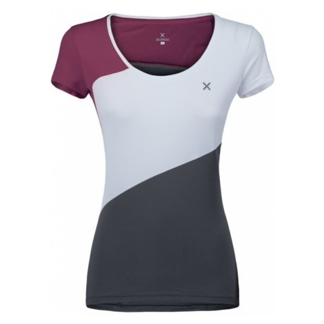 Montura dámské tričko Outdoor Style, bílá/šedá