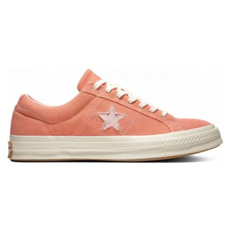 Converse ONE STAR červená - Pánské tenisky