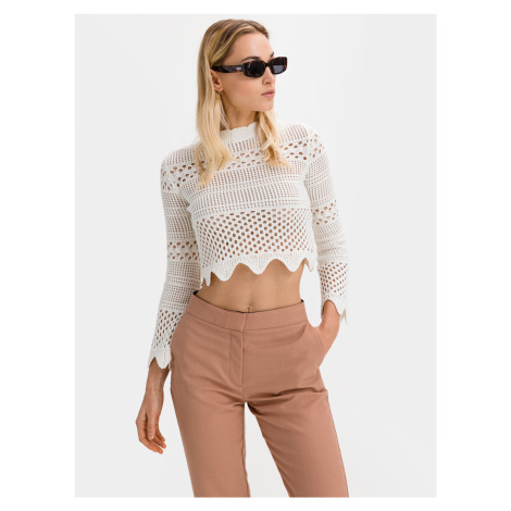 Annie Crop top Guess Bílá