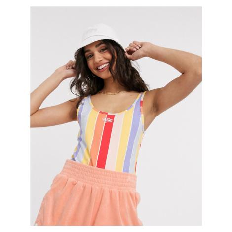 Nike rainbow stripe vest bodysuit-Multi