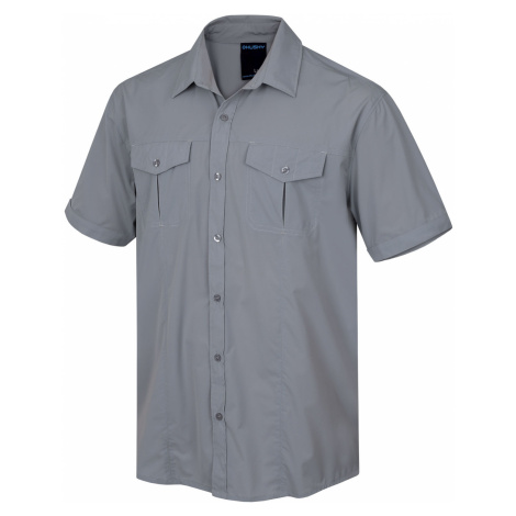 Husky Gomy M, sv. šedá Pánská košile