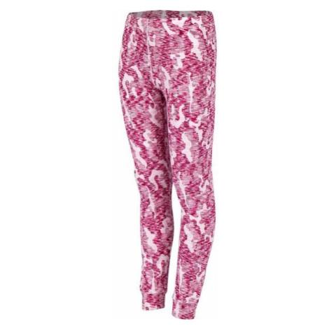 Arcore KILIAN růžová - Dětské termo kalhoty