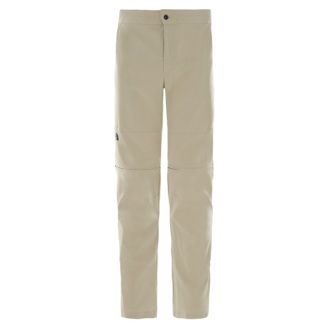Pánské kalhoty THE NORTH FACE M Paramount Active Convertible Pant, Twill Beige