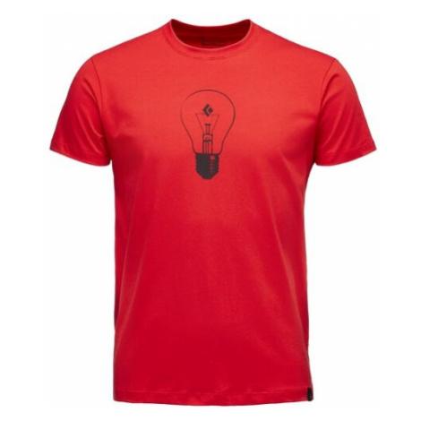 Black Diamond triko KR pánské BD Idea, červená