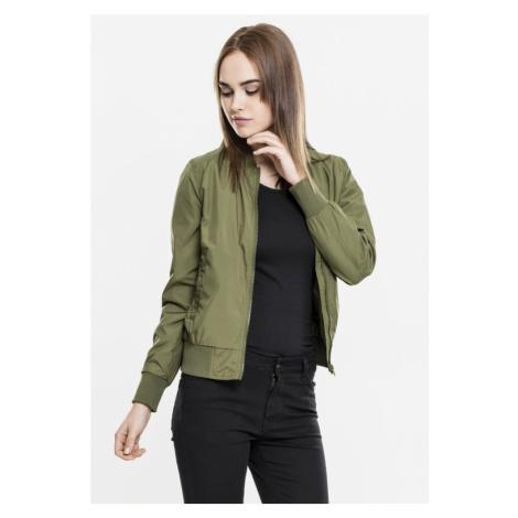Ladies Light Bomber Jacket - olive Urban Classics