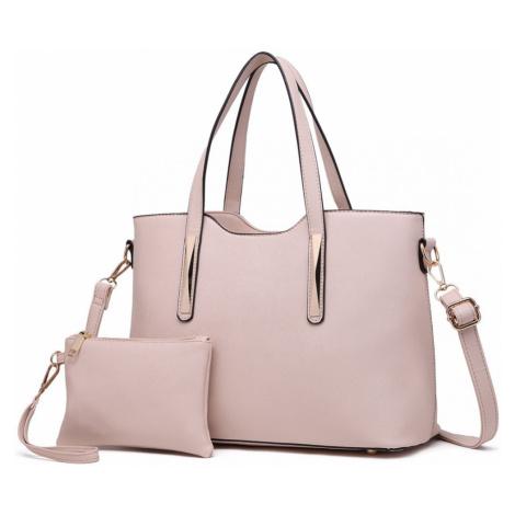Béžový dámský kabelkový set 2v1 Triel Lulu Bags