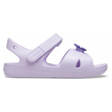 Crocs Classic Cross Strap Sandal PS Lavender C9