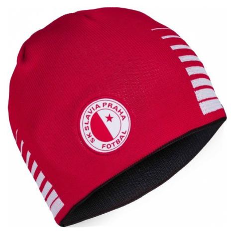 Puma SKS Reversible Beanie červená - Pánská čepice
